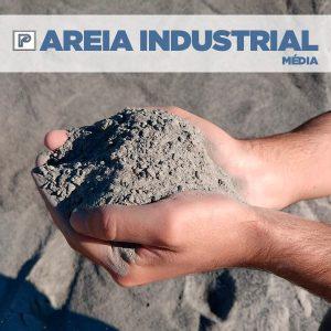 Areia Industrial Média